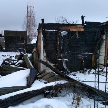 Осмотр конструкций после пожара