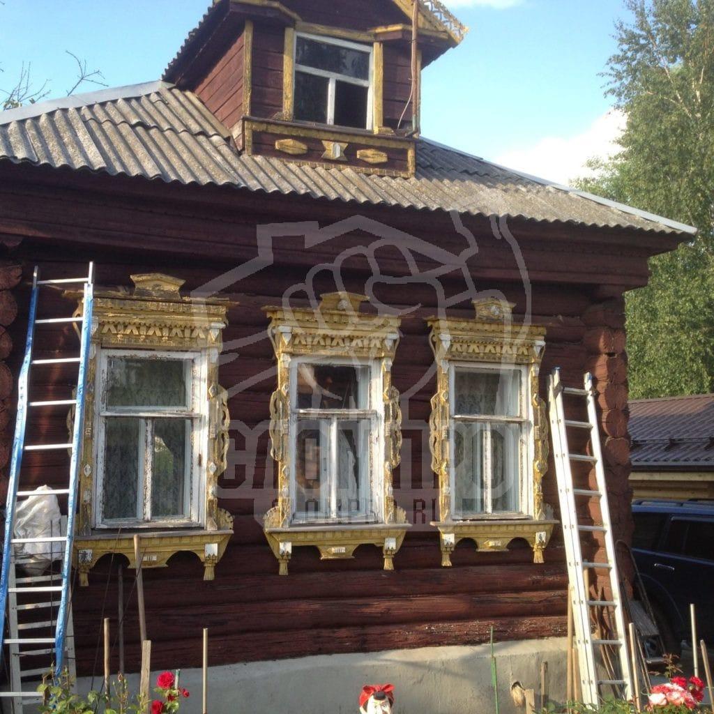 Демонтаж дома и вывоз мусора в деревне Большое Буньково