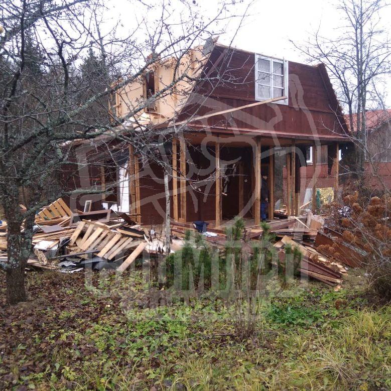 Демонтаж построек