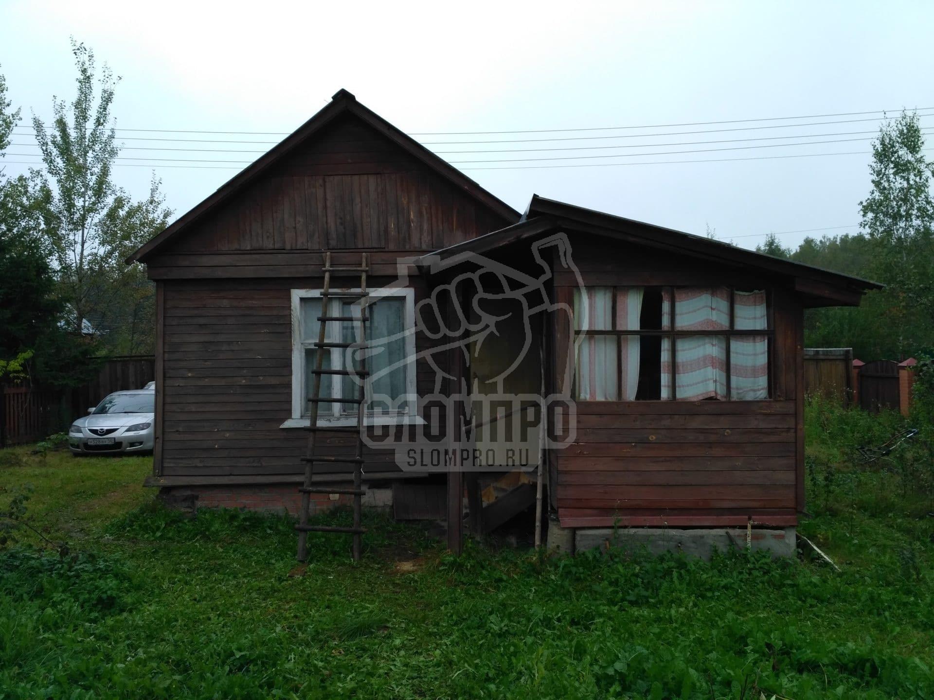 Дачный домик до слома