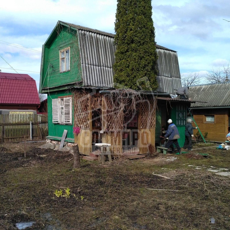 Демонтаж дачного дома