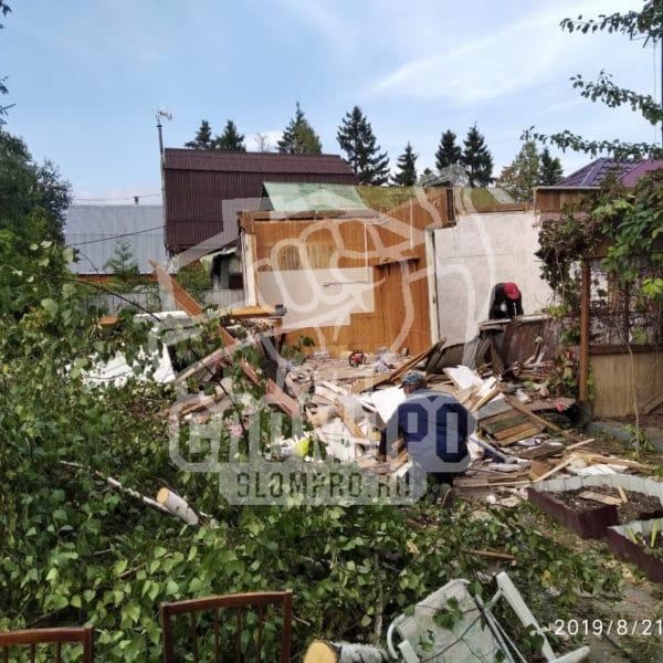 Спил деревьев и снос в Домодедово