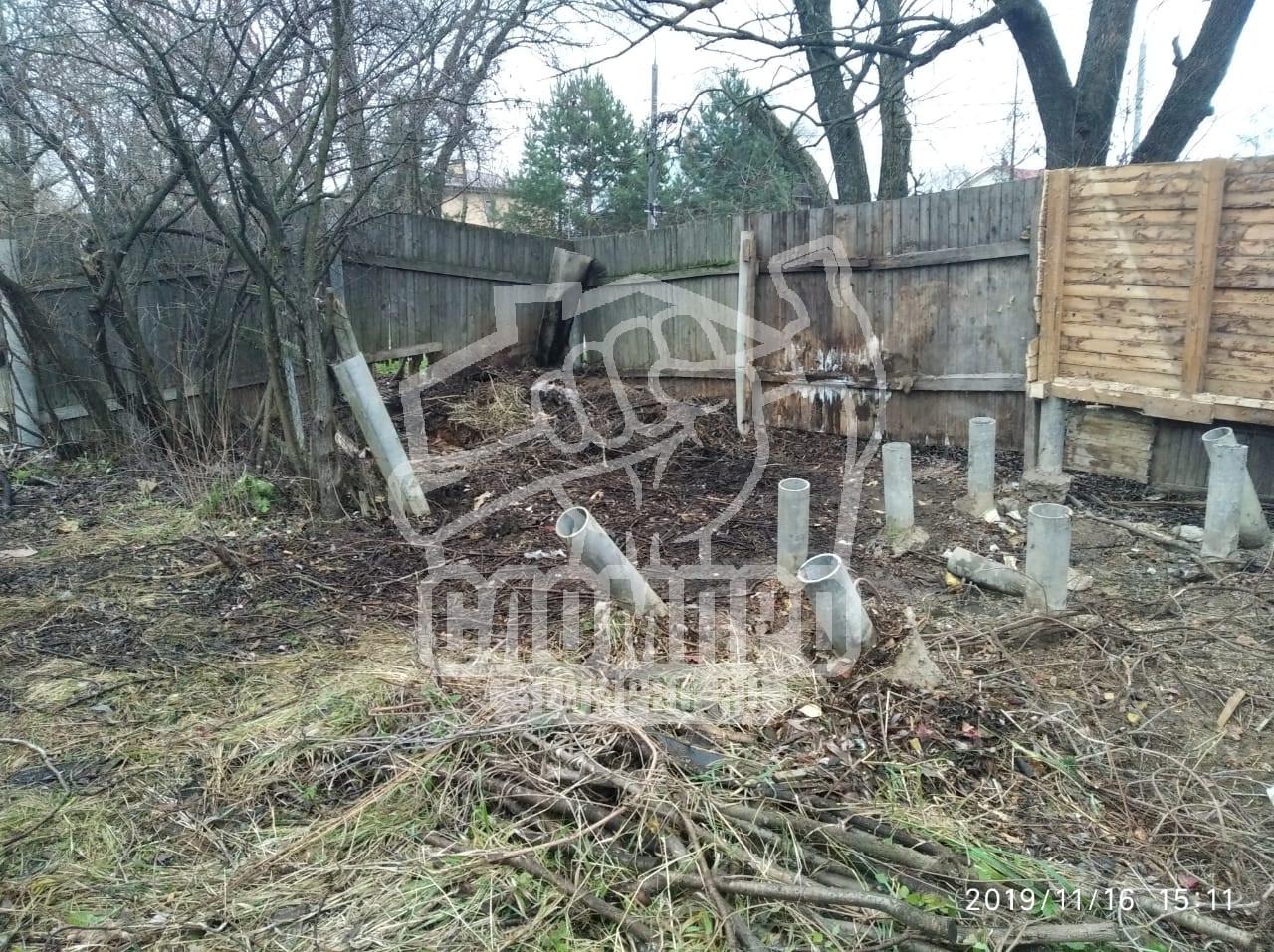 Итог демонтажа сарая в Толстопальцево