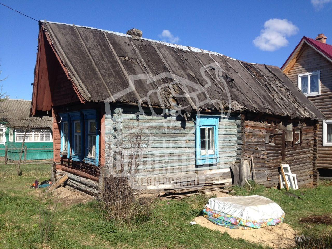 Дом до проведения демонтажных работ